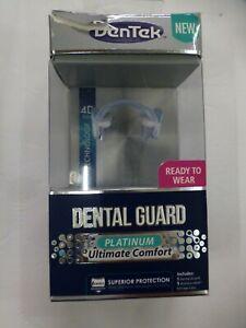 New DenTek Platinum Ultimate Comfort Nighttime Dental Guard