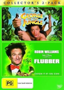 George Of The Jungle   /  Flubber DVD