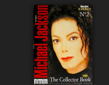 MICHAEL JACKSON THE COLLECTOR BOOK TIRAGE LIMITE FRENCH NR. 2 RARE NO PROMO