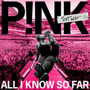 P!nk All I Know So Far: Setlist Pink BRAND NEW CD