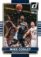 Mike Conley 2014-15 Panini Donruss Basketball Base Card #150 Memphis Grizzlies