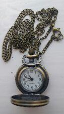 Small Brass Pocket Watch, new uk