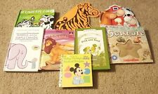Lot Of 8: Children's Books Lion King, Adventures Of Toad And Frog, & More