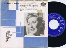 VERA LYNN Sings Today's Pop Hits Danish 45PS 1959