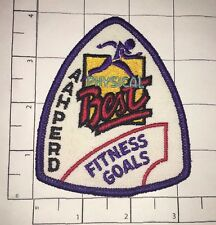 AAHPERD Physical Best Patch - Fitness Goals