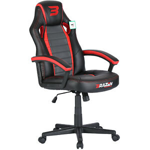 Pre-Loved BraZen Salute PC Gaming Chair - Red