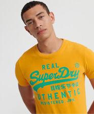 Superdry Mens Vintage Authentic Fluro T-Shirt