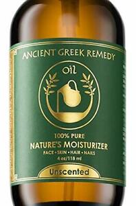 Unscented Organic Blend of Cold Pressed Jojoba, Almond, Olive, Grapeseed, vit...