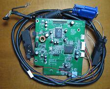 Scheda madre monitor DA0L7TMB2C1 Rev C Acer AL1712m + casse audio + cavo video