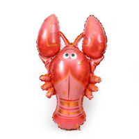 1PC Lobster Super Shape Mylar Foil Balloon Summer Seafood Party DecorationNTXP