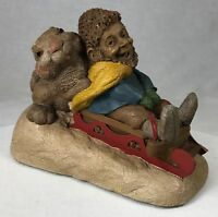 Tom Clark & Tim Wolfe Gnome Bunny Slope #6328 Edition #96 Cairn Studios 4.5""