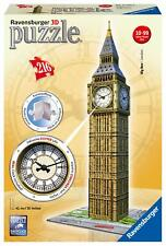 Ravensburger Big Ben 216 Piece 3D Jigsaw Puzzle Includes Real Working Clock