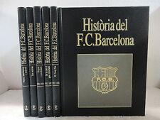 Historia del F.C. BARCELONA,completa en 6 Tomos,Ed.Labor 1993 (CATALAN)
