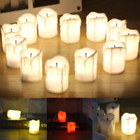 60 LED Tea Light Candle Tealight Flameless Battery Operated Wedding Home Decor