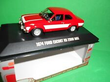 CORGI VANGUARD/ GREENLIGHT1974 FORD ESCORT  RS 2000 MK1   M/B