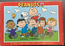 PEANUTS 48 PIECE GIANT FLOOR PUZZLE 3ft x 2ft # 1242-1