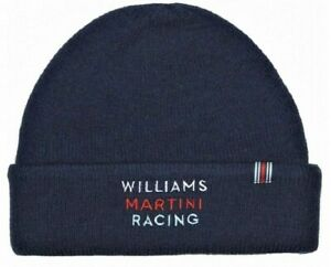 HAT Beanie Williams Martini Racing Formula One Team 1 F1 Hackett Sponsor NEW!