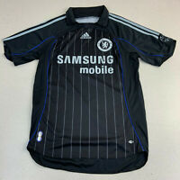 Adidas CFC Chelsea Football Soccer Club Jersey Samsung Mobile Black Small
