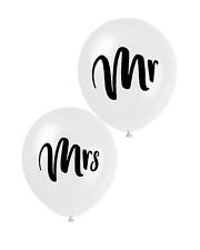 4 Mr & Mrs Script Latex Balloons | Decoration | Celebration | Engagement