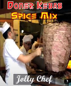 Takeaway Doner Kebab Spice Mix - Shawarma/Gyro/Donair/Donna - 450g