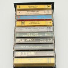 Lot of 10 Rod Stewart Cassette Tapes