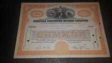1920 The New York Central Railroad  Co. canciled Stock certificate 1944