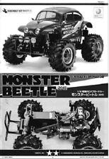 INSTRUCTIONS Monster Beetle 2015 VW Baja Bug Build Manual Book RC Tamiya 1054756