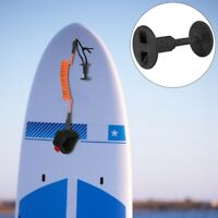 Nylon Surf Board Leash Leg Rope ! Plug Surfboard Accessory Plastic Surfing Black