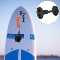 Nylon Surf Board Leash Leg Rope Plug Surfboard Accessory Plastic Surfing Black