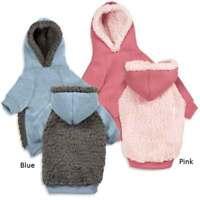 Casual Canine Cozy Warm Fleece Hoodies for Dogs - Dog Sweater / Coat / Jacket