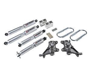 "Belltech Lowering Kit 2""F/3""R W/ SP Shocks for 84-00 Toyota Pickup"
