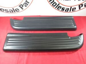 DODGE RAM Driver & Passenger Side Rear Bumper Pad NEW OEM MOPAR