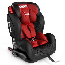 Autokindersitz Autositz Kinderautositz mit ISOFIX 9-36kg Gruppe 1+2+3 Rot