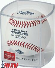 2019 Rawlings Official WORLD SERIES Baseball Cubed NATIONALS vs ASTROS