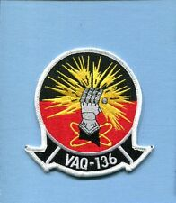 VAQ-136 GAUNTLETS NAVY GRUMMAN EA-6B PROWLER Electronic Warfare Squadron Patch