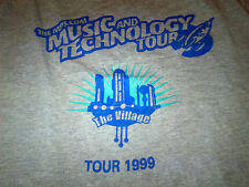 mp3 dot com Music Technology Tour: Fall 1999 Used T-Shirt (Goo Goo Dolls, Fern)