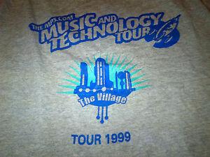 mp3 dot com Music Technology Tour: Fall 1999 Used T-Shirt (Goo Goo Dolls, Fern)