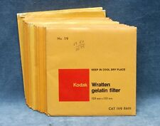 KODAK WRATTEN GEL 5X5 FILTERS - NOS, SEALED - YOUR CHOICE $21.99 SHIPPED USA