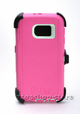 Otterbox Defender Samsung Galaxy S6 Hard Shell Case Holster Belt Clip Pink USED