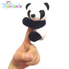 Cute Plush Panda Clip Toy Mini Stuffed Animal Bookmark Notes Gift 4inch