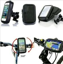 New 360 Degree Bicycle Bike Waterproof Case Mount Holder For Most Phones