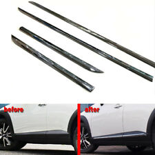 ABS Chrome Door Side Line Body Molding Strip Cover Trim For Mazda CX-3 2016-2018