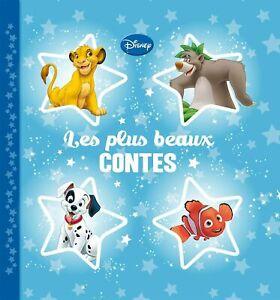 DISNEY - Les plus beaux contes (Roi Lion-Némo etc) | Album illustré pour enfants