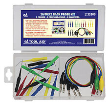 20 Piece Electrical Back Tester Kit S & G TOOL AID 23500