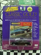 '00 JOHNNY LIGHTNING 1997 CHEVY IMPALA SS NIB CLASSIC GOLD COLLECTION SERIES