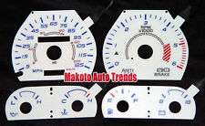 125MPH Euro Reverse Gauge White Face New For 88-96 Dodge Dakota with Tach