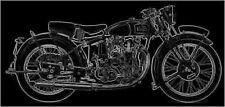 VINCENT COMET RAPIDE METEOR Service & Parts MANUALs 200pg for B C D Motorcycles