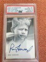 TWILIGHT ZONE SERIES 4 SCIENCE & SUPERSTITION A67 RON HOWARD GEM MT 10 AUTO 9