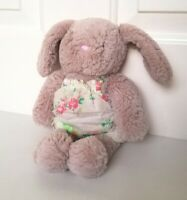 "Next Grey Bunny Rabbit Floral Dress My Best Friend 11"" Soft Toy Plush Comforter"
