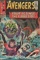 Avengers #27 ORIGINAL Vintage 1966 Marvel Comics Scarlet Witch Captain America